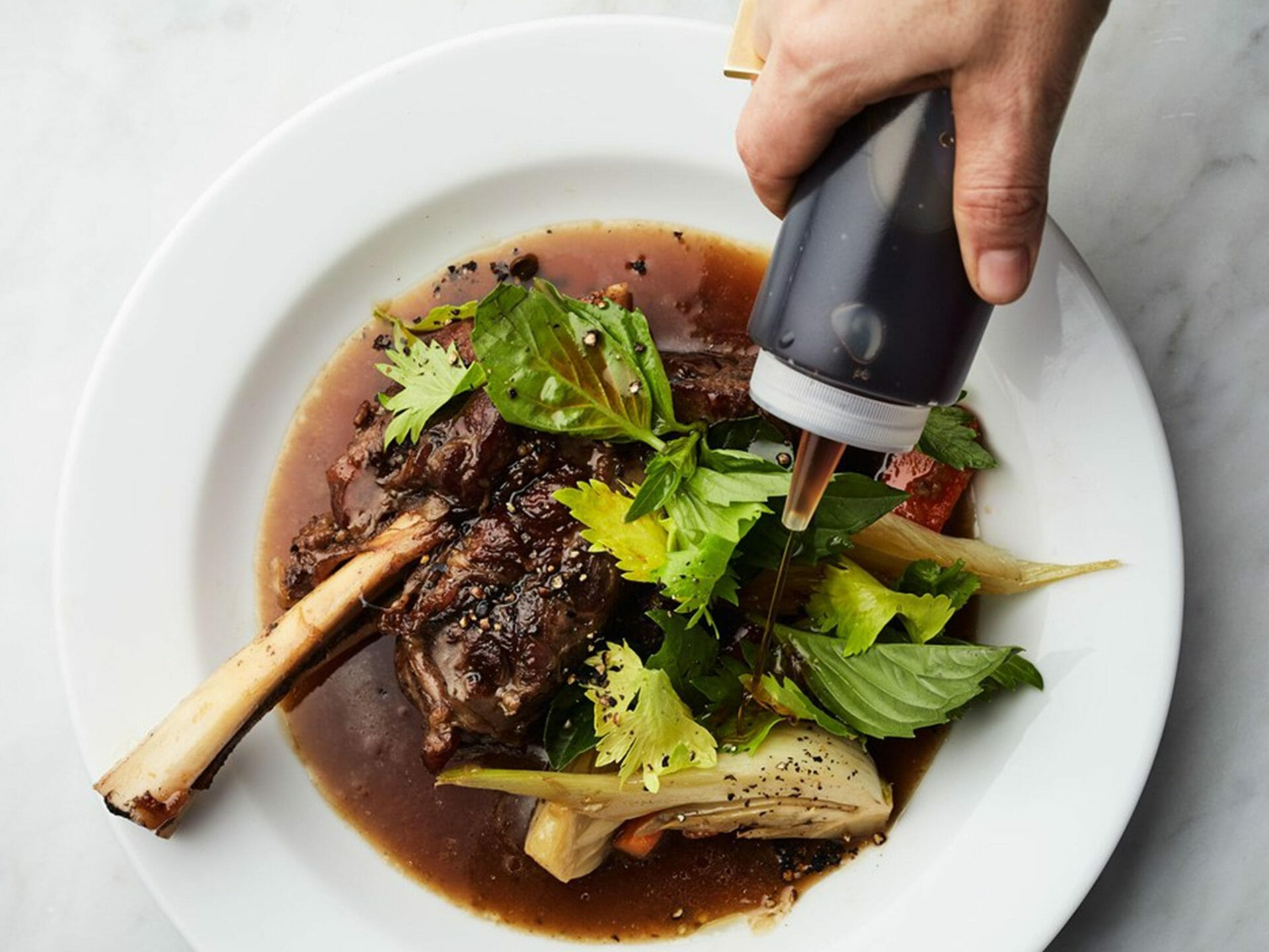 Braised Lamb Shanks With Fish Sauce